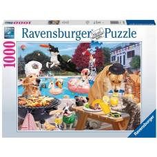Ravensburger 1000 - Summer days for dogs