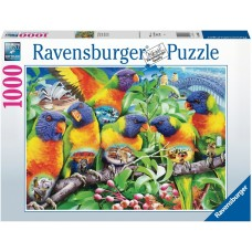 Ravensburger 1000 - The land of parrots
