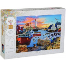 Step Puzzle 1500 - At the port