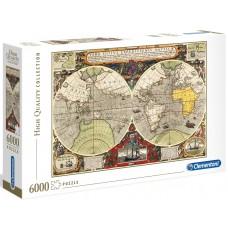 Clementoni 6000 - Ancient map