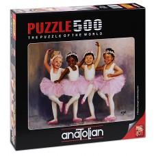 Puzzle Anatolian 500 - Small Ballerins, Diane Denggle