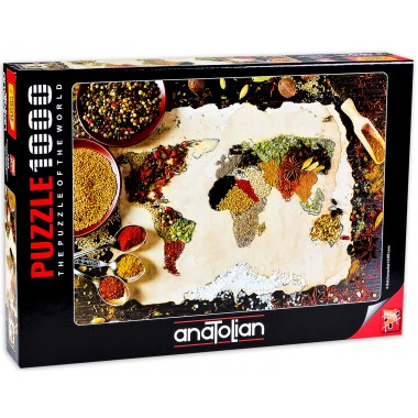 Anatolian  1000  - A herbal map of the world