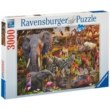 Ravensburger 3000 - Wildlife in Africa