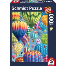 Schmidt 1000 - Colorful balloons in the sky
