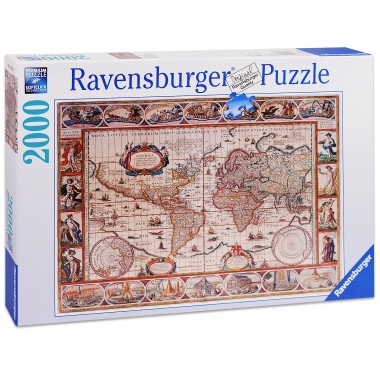 Ravensburger 2000 - Ancient map of the world