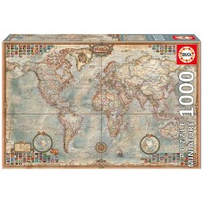 Educa 1000 - Political map of the world, miniature