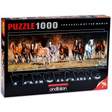 Anatolian  1000  - Leisure Time, Kim Penr, - Panorama Puzzle