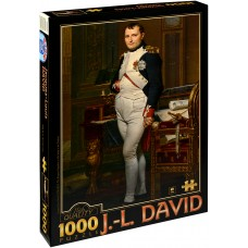 D-Toys 1000 - Emperor Napoleon in his Tuileries office, Jacques-Louis David