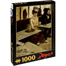 D-Toys 1000 - In the cafeteria (Absinthe drinkers), Edgar Degas
