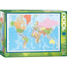 Eurographics 1000 - A modern map of the world