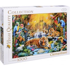 Clementoni  1000  - Mysterious Tigers