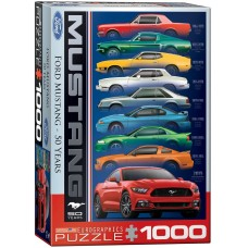 Eurographics  1000  - Ford Mustang 50 years