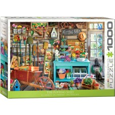 Eurographics 1000  - The garden shed