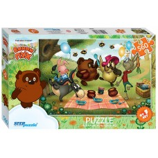 Step Puzzle 560 - Winnie the Pooh