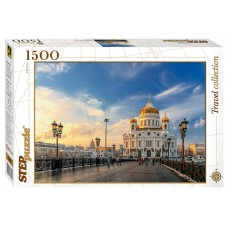 Step Puzzle 1500 - Cathedral of Christ the Savior, Moscow