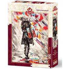 Art Puzzle  500  - Art Critic, Miodrag Momchilovich