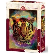 Art Puzzle 500  - Tiger, Eren Malchok
