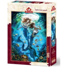 Art Puzzle  500  - Mermaids, Nadia Strelkin