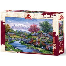 Art Puzzle  500  - Bridge, Arturo Zaragoza