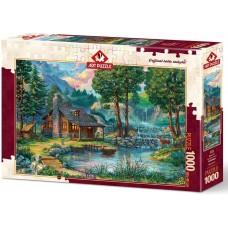 Art Puzzle  1000  - A fabulous house
