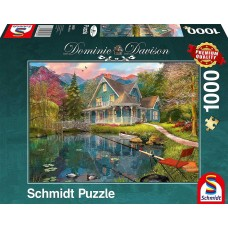 Schmidt 1000 - A secluded house by the lake, Dominic Davison