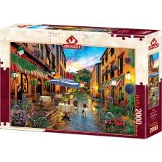 Art Puzzle 2000 - Cycling through Italy, David M.