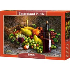 Castorland 1000 - Fruits and wine