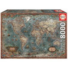 Educa 8000 - Historical map of the world