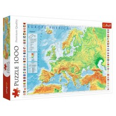 Trefl 1000 - The map of Europe