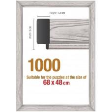 Рамка за Пъзел от 1000 части(68х48см) - бяла